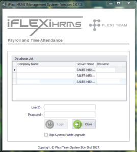 iFlexi HRMS Payroll & Time Attendance